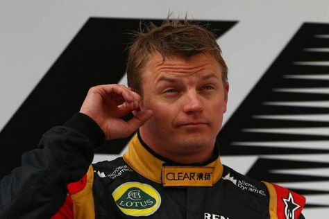 Kimi Räikkönen wird auf dem Weg nach Bahrain einiges zu grübeln haben