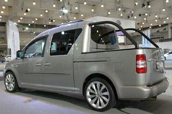 VW Caddy Pick-up Concept