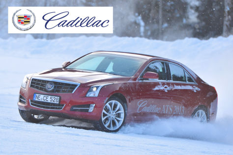 Cadillac Winter Drive Event