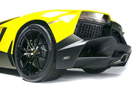 Lamborghini Aventador LP 720-4 Heck Reifen Shanghai