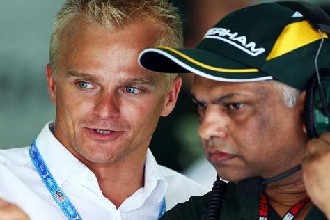 Heikki Kovalainen soll dem schwächelnden Caterham-Team unter die Arme greifen