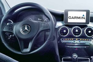 Garmin f�hrt Mercedes