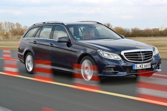 Kombi Vergleich Wie Schlägt Sich Die Neue E Klasse Autobildde