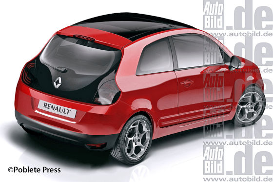 Renault Twingo auf Smart - Basis