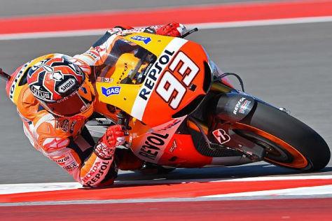 Marc Marquez war am Freitag deutlich schneller als die restliche MotoGP-Elite