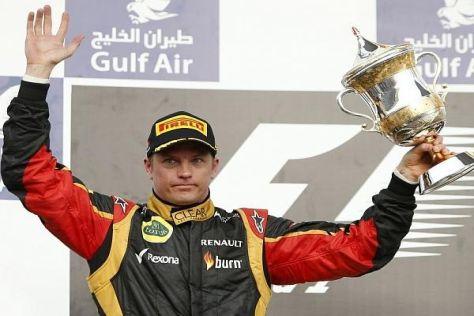 Mehr als Platz zwei war für Kimi Räikkönen in Bahrain nicht drin