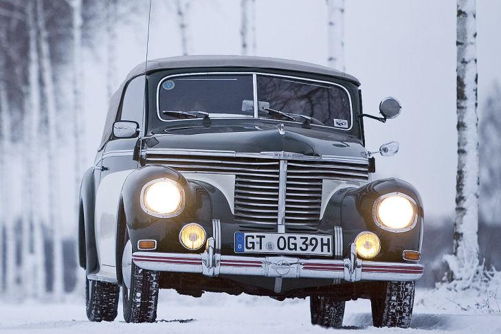 Bilder: 75 Jahre Opel Kapitän
