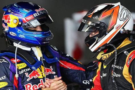 Sebastian Vettel und Kimi Räikkönen verstehen und respektieren sich