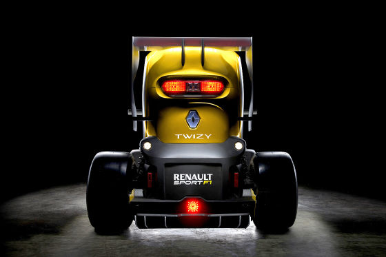 Renault Twizy F1 Concept Car