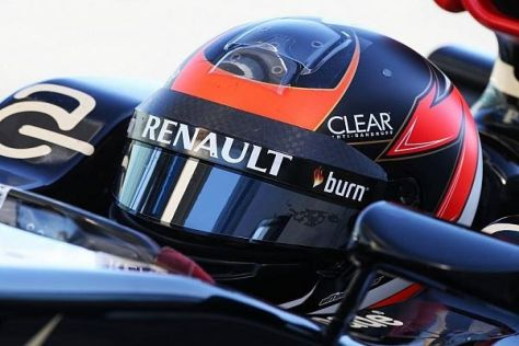 Kimi Räikkönens wahres Gesicht versteckt sich hinter dem Visier