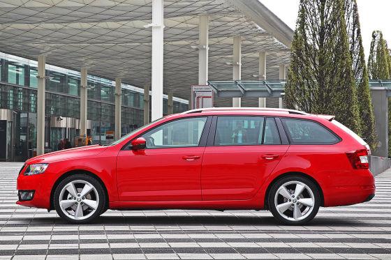 Skoda Octavia Combi Facelift