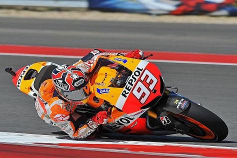 Marc Marquez reist als WM-Führender zum dritten Saisonrennen der MotoGP