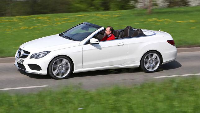 Video Mercedes E Klasse Cabrio Autobild De