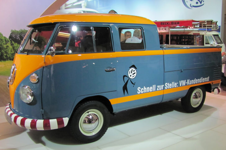 Bilder: Kleintransporter der fünfziger Jahre
