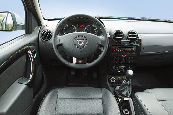 Cockpit Dacia Duster