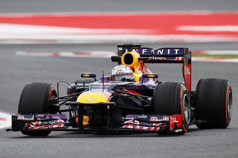 Sebastian Vettel war am Freitag knapp vor Fernando Alonso der Schnellste