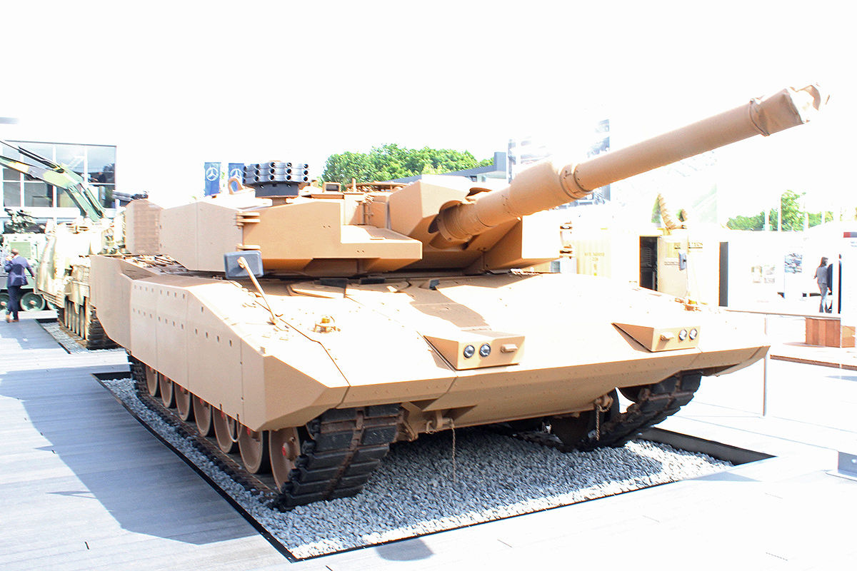 Leopard 2 Revolution Eurosatory 2014