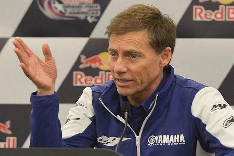 Yamaha-Rennleiter Lin Jarvis ist von den Plänen für 2014 bis 2016 überzeugt