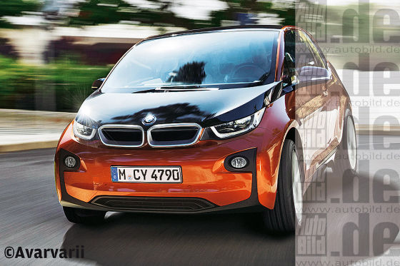 BMW i3 Illustration