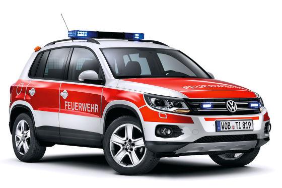 VW Tiguan als Kommandowagen (KdoW) für die Feuerwehr