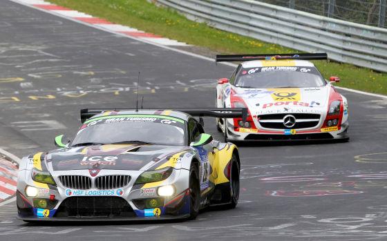 BMW Sports Trophy Team Marc VDS im BMW Z4 beim 24h-Rennen am Nürburgring 2013