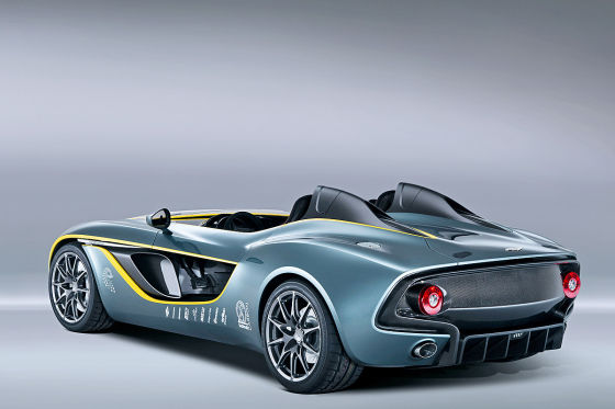 Aston Martin CC 100 Speedster Concept Heckansicht