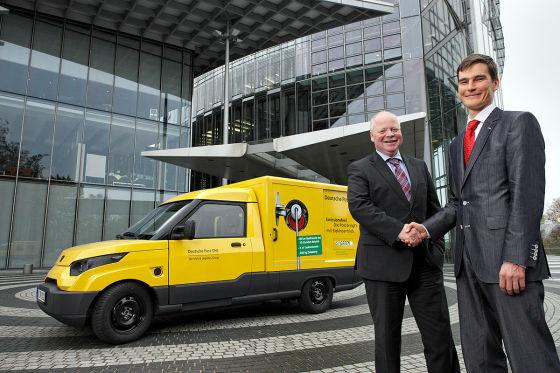 StreetScooter für die Deutsche Post DHL