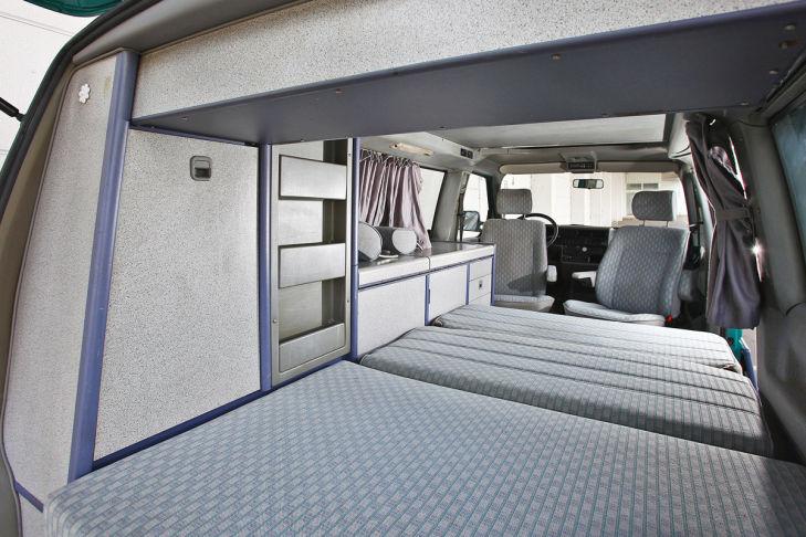 Bett VW T4 California