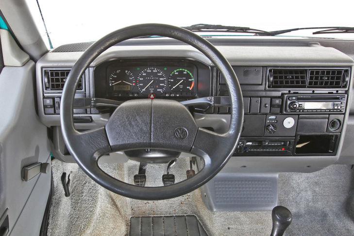 Cockpit VW T4 California