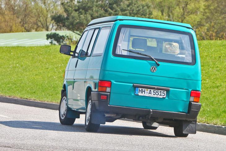 VW T4 California fahrend