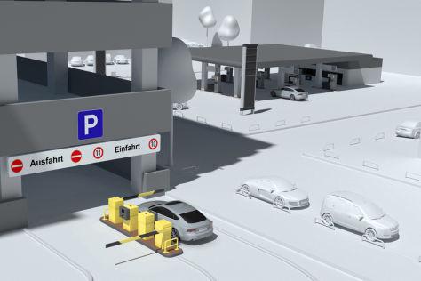 Audi Connect drahtlos bezahlen