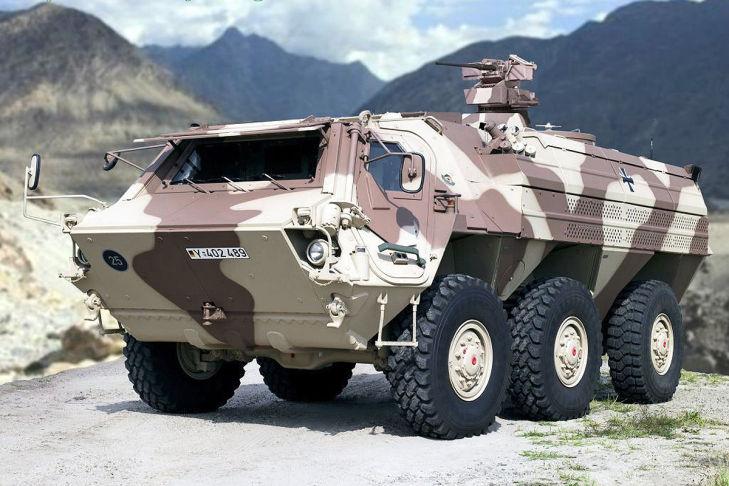 Transportpanzers Fuchs 1A8