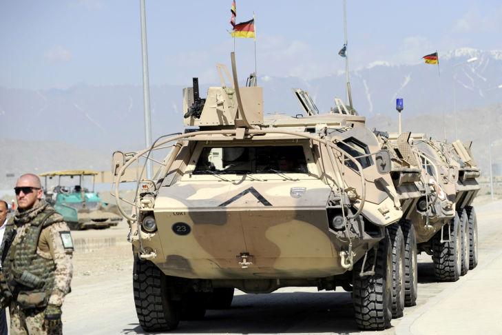 Transportpanzers Fuchs Afghanistan