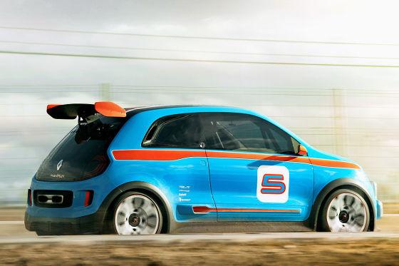 Renault Twin'Run Concept Seitenansicht
