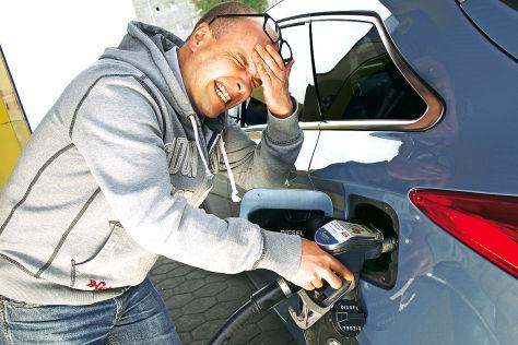 Benzin statt Diesel