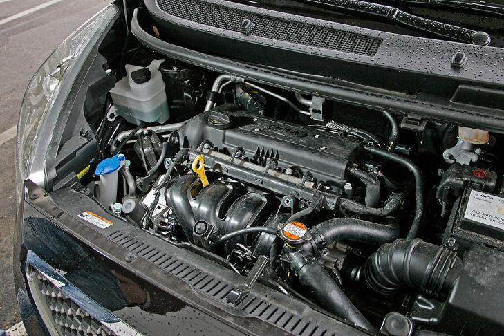 Kia Venga 1.4 CVVT Vision, Motor