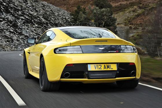 Aston Martin V12 Vantage S Facelift Für Den Supersportler Autobild De
