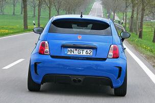 Dieser Fiat 500 rennt 260
