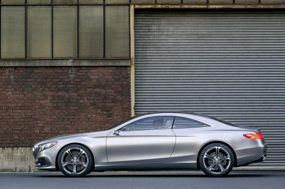 Concept S-Class Coupé Seite