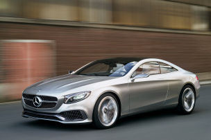 Die Spitze von Mercedes