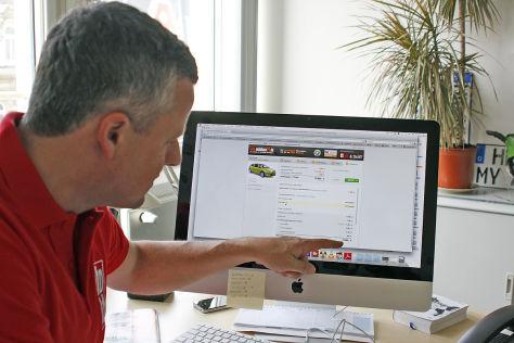 Autokauf im Internet