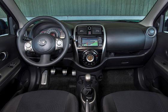 Nissan Micra Facelift (2013) Innenraum Cockpit