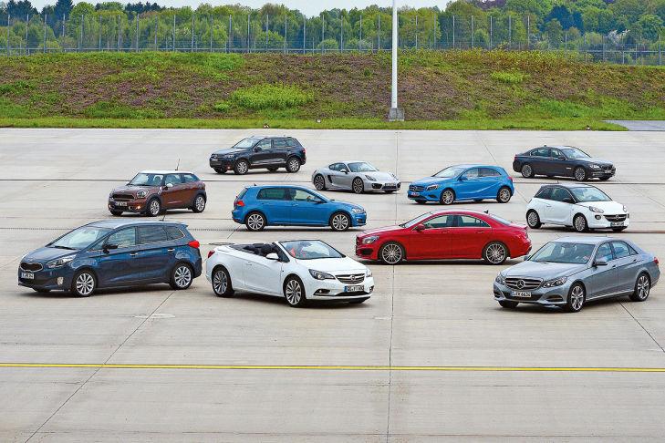 Elf aktuelle Automodelle im Komfort-Check