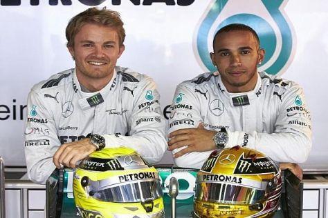 Aktuell konnte Nico Rosberg den teaminternen Spieß umdrehen