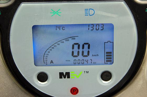 Elektro-Hummer HX Instrument Tacho