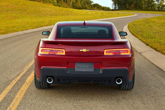Chevrolet Camaro Facelift Heck
