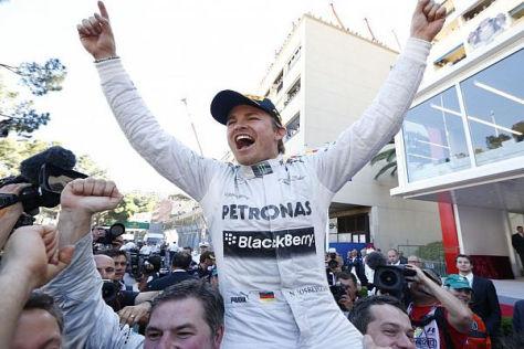 Trotz Monaco-Sieg sieht sich Nico Rosberg nicht als Mitfavorit auf den WM-Titel