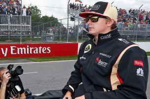 Räikkönen holt Schumi ein