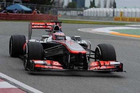 Jenson Button erwartet ein schwieriges Rennen in Kanada