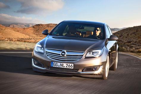 Honda Urban Ev >> Neue Design und neue Motoren: Opel Insignia-Facelift zur ...